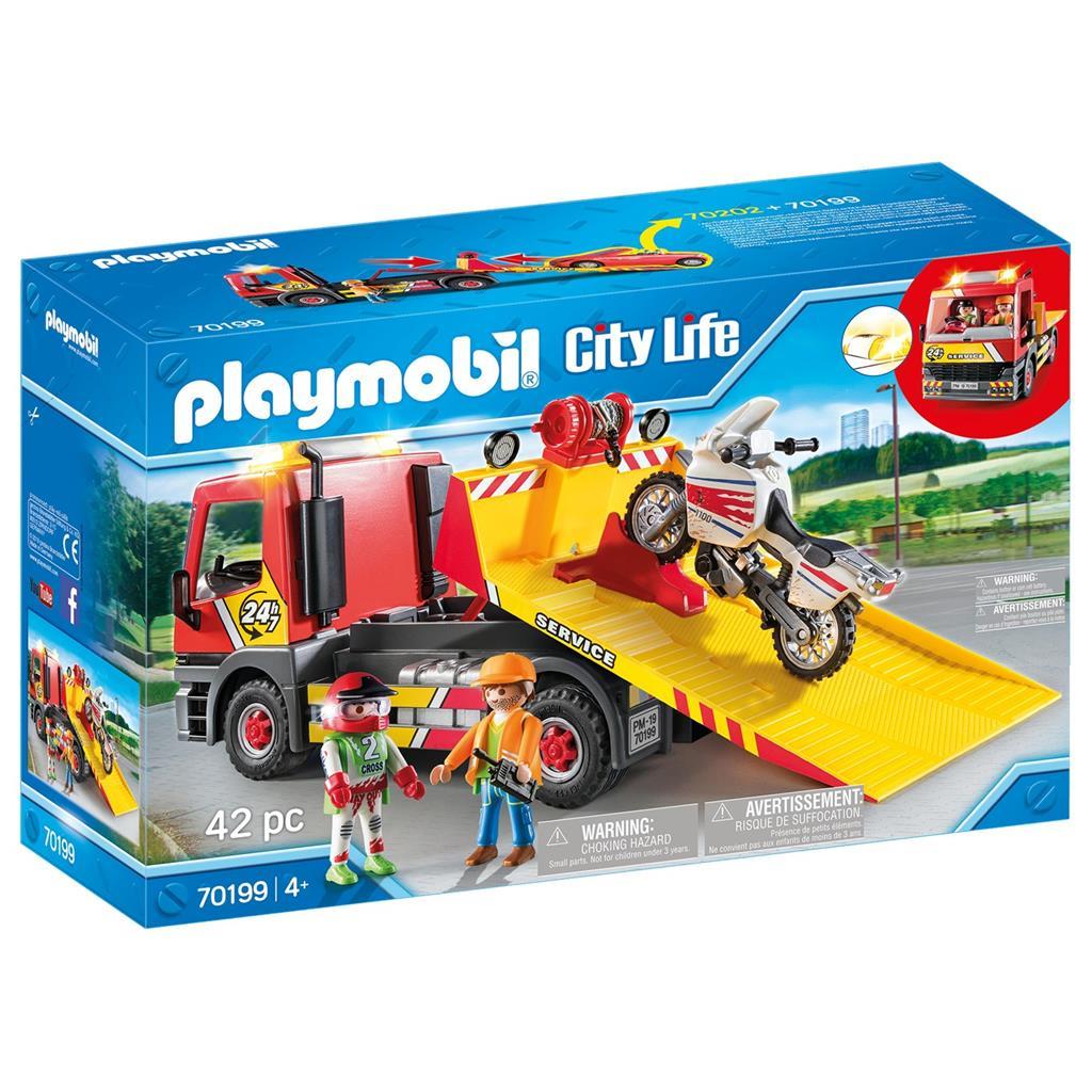 Playmobil - Towing  Service (70199)