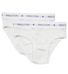 Melton - Numbers Rib Briefs 2 pk