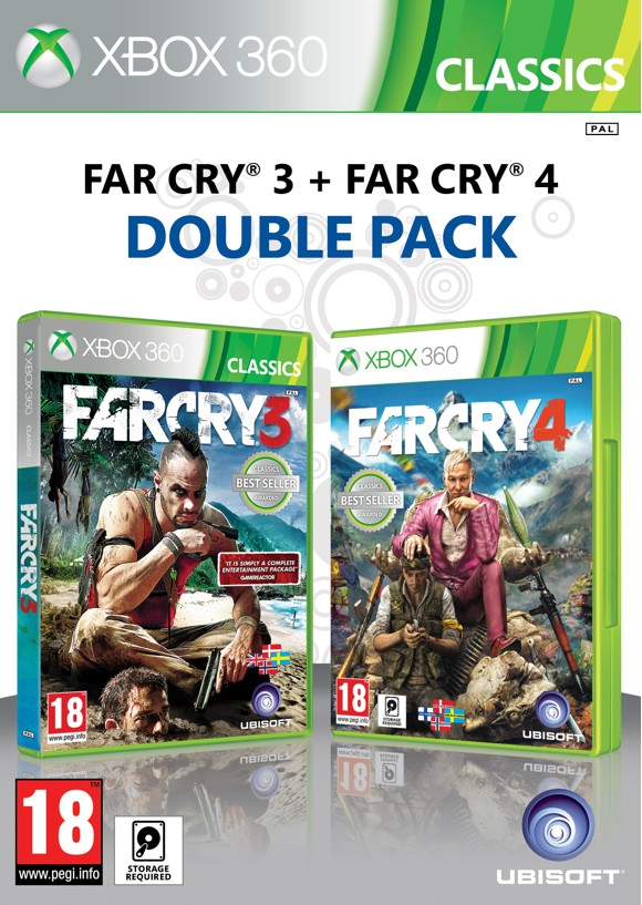 Far Cry 3 + Far Cry 4 (Double Pack)