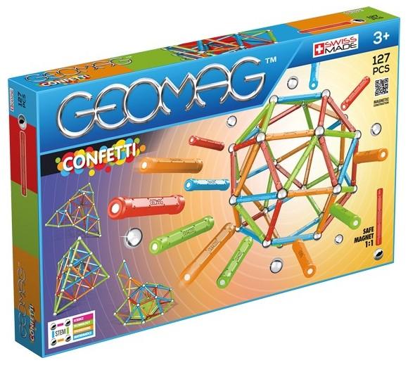 Geomag - Confetti - 127 dele