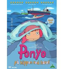 Ponyo på klippen ved havet - DVD