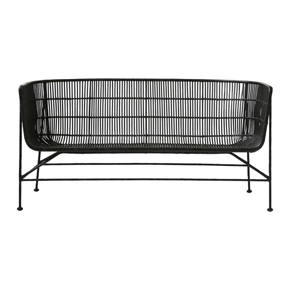 House Doctor - Coon Sofa - Black (HE0301)
