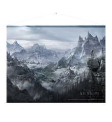 "Skyrim Wallscroll ""Valley"""