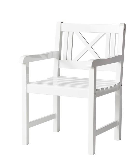 Cinas - Rosenborg Garden Chair - White (3500010)