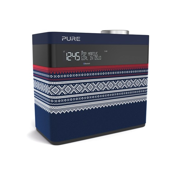 Pure - Pop Maxi FM/DAB/DAB+/BT Radio Marius Edt. Blue