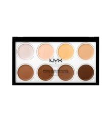 NYX Professional Makeup - Highlight & Contour Cream Pro Palette