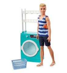 Barbie - Vaskerum med Ken (FYK52)