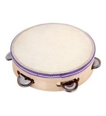 Bontempi - Tambourin i træ med skind