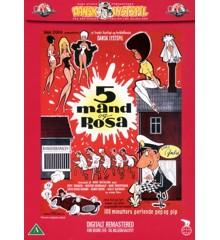 5 mand og Rosa - DVD