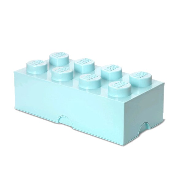 Room Copenhagen - LEGO Storrage Brick 8 - Aqua (40041742)