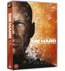 Die Hard 1-5 (5 disc) - DVD