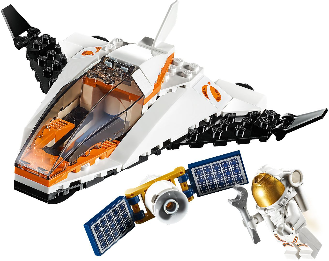 LEGO City - Satellite Service Mission (60224)