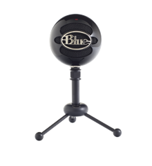 Blue - Microphone Snowball Gloss Black