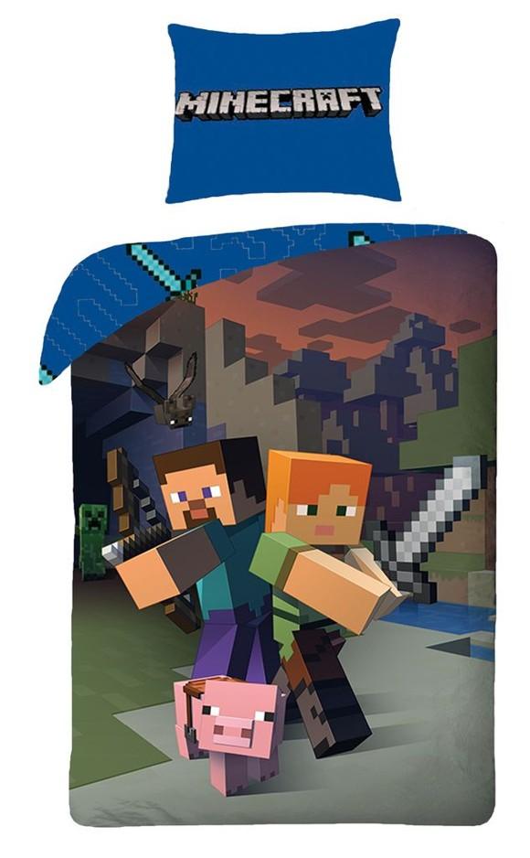 Minecraft - Good Guys Single Panel Duvet