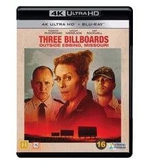 Three Billboards Outside Ebbing, Missouri (4K Blu-Ray)