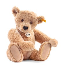 Steiff bamse - Elmar Teddybjørn, gyldenbrun, 40 cm