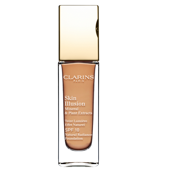 Clarins - Skin Illusion Foundation SPF 10 - Amber