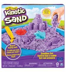 Kinetic Sand - Lilla Sandslot Sæt (450g)