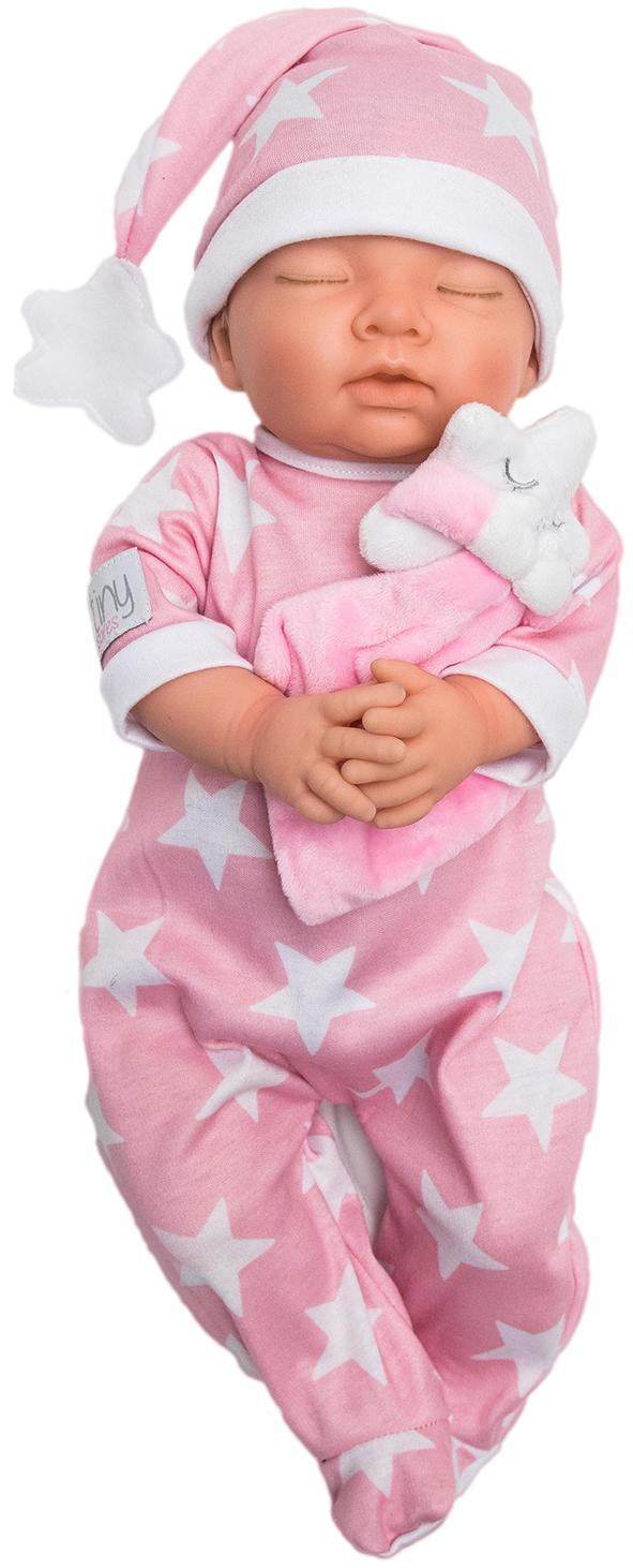 Tiny Treasure - Doll - Sleepy w/ Heartbeat (30110)
