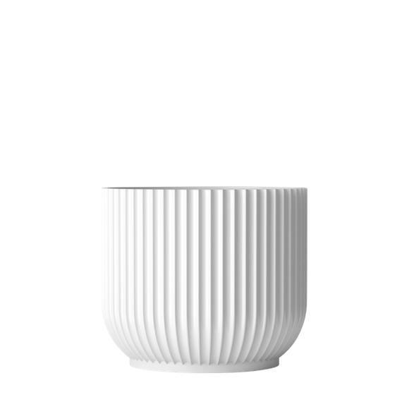 Lyngby Porcelæn - Flowerpot Ø 18 cm - White (201396)