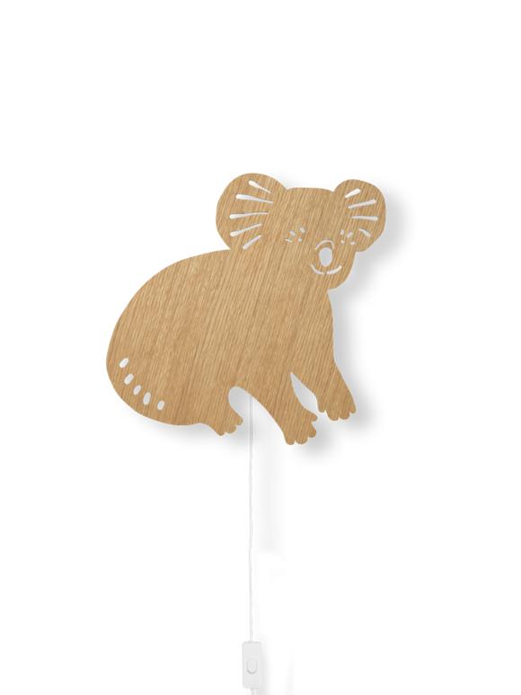 Ferm Living - Koala Lamp - Olied Oak (100049208)