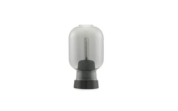 Normann Copenhagen - Amp Table Lamp - Smoke/black (502120)