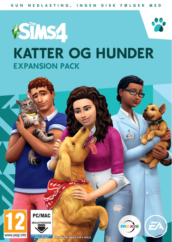 The Sims 4: Cats and Dogs (NO) (PC/MAC)