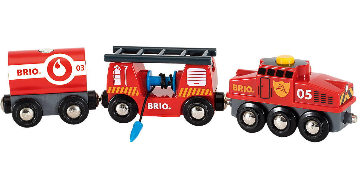 BRIO - Rescue Firefighting Train (33844)