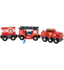 BRIO - Rescue Firefighting Train (33844)