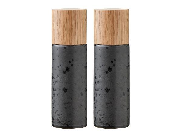 Bitz - Salt&Pepper Grinders Set - Black (821500)