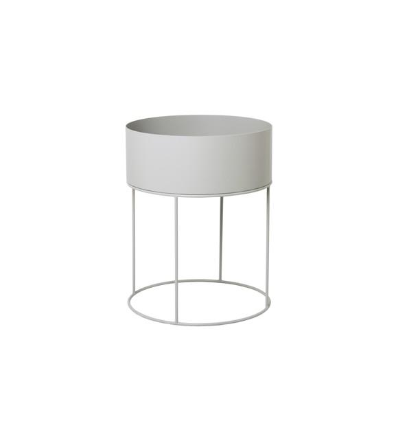 Ferm Living - Plant Box Round - Light Grey (3357)