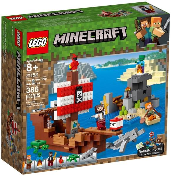 LEGO Minecraft - The Pirate Ship Adventure (21152)