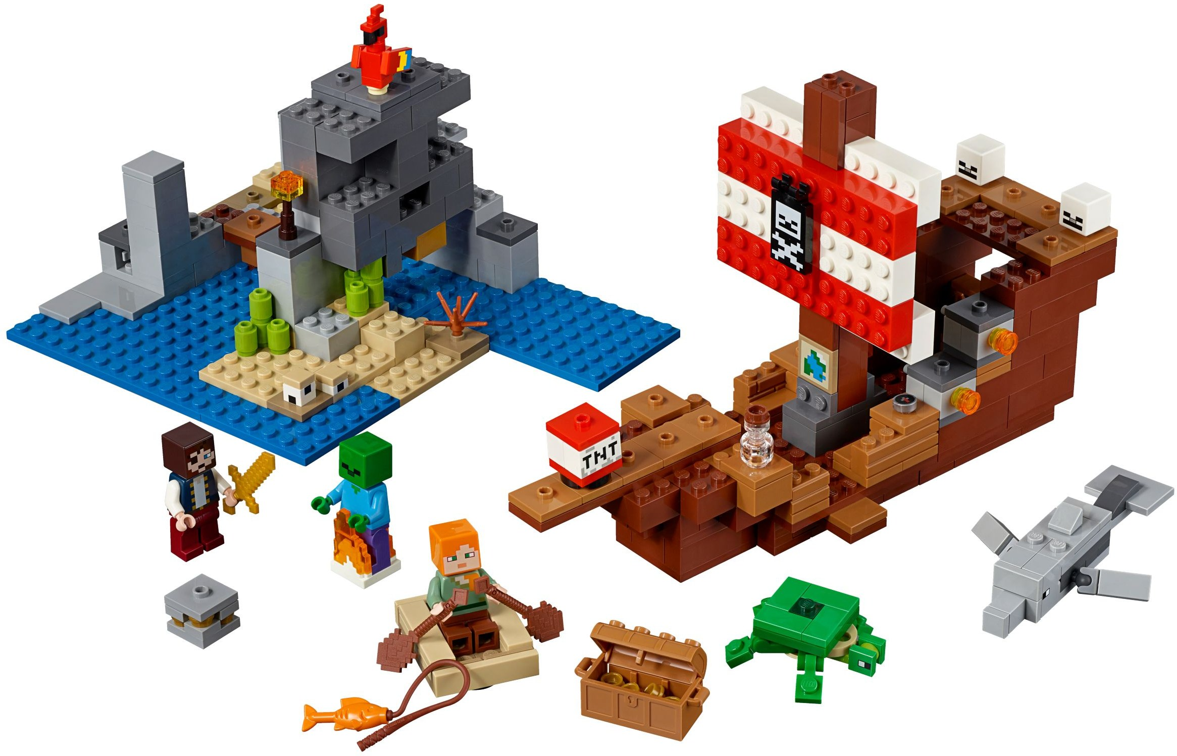 LEGO Minecraft - The Pirate Ship Adventure (21152)