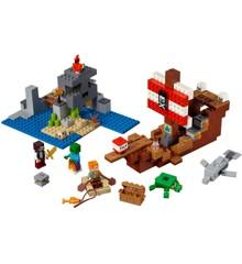 LEGO Minecraft - Piratskibseventyret (21152)