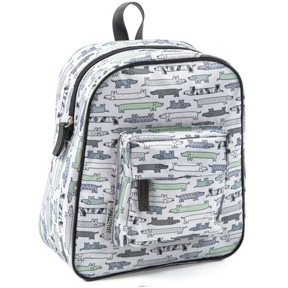 Smallstuff - Small Backpack - Sausage Dog, Grey (83001-21)
