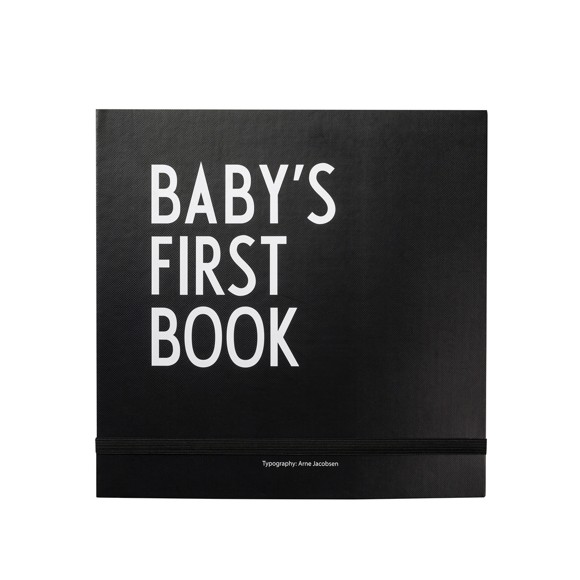 Design Letters - Baby's First Book - Black (20202400BLACK)