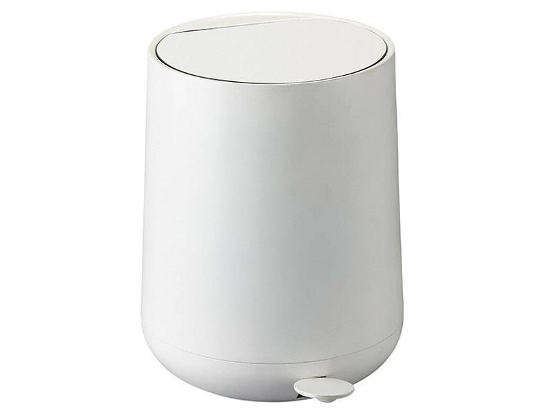 Zone - Nova Pedal Bin 5 L - White (330132)