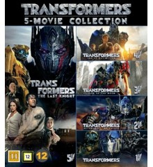 Transformers 1-5 Boxset - DVD