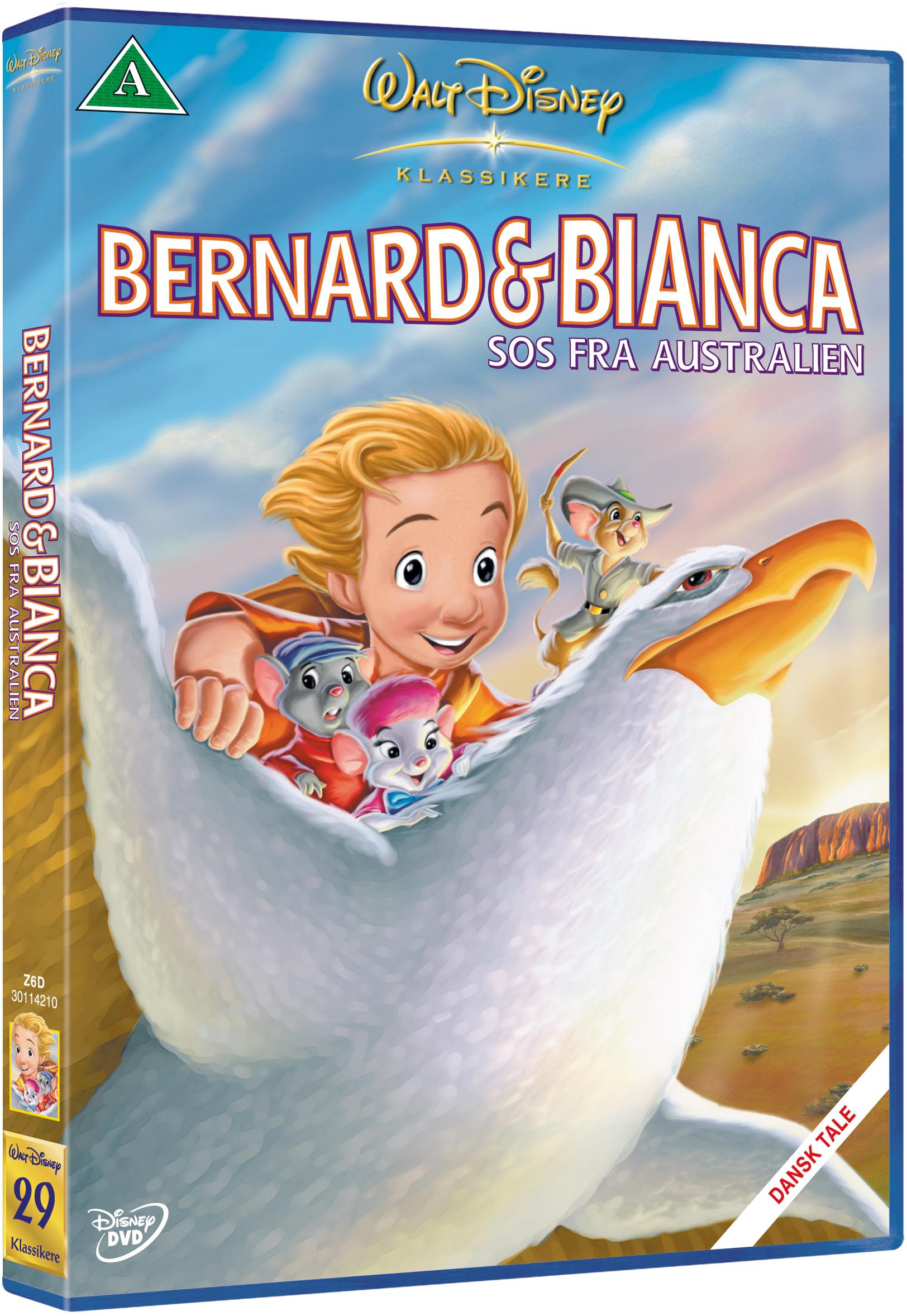 Bernard og Bianca: SOS fra Australien -Disney classic #29