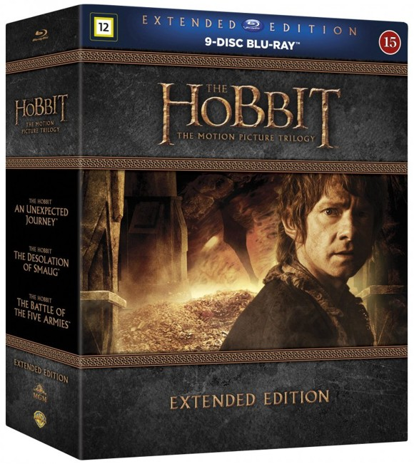 Hobbit: The Motion Picture Trilogy - Extended Edition (9 disc) (Blu-ray)