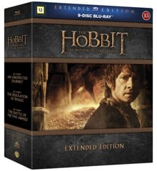 Hobbit Trilogy, The: Extended Edition (9-disc) (Blu-ray)