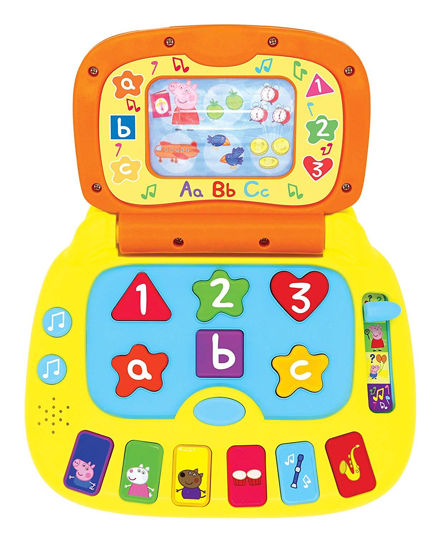 Billede af Peppa Pig - Grin og lær - Bærbar Computer (40-00676)