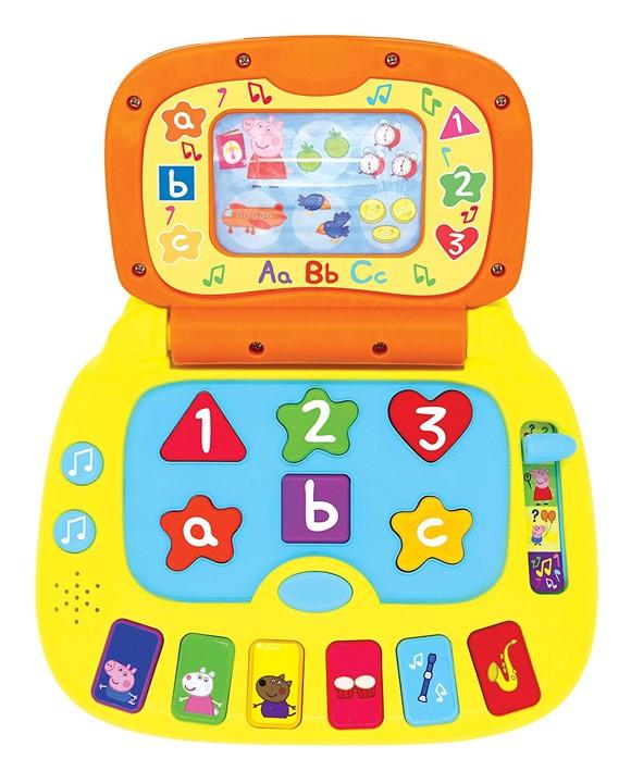 Peppa Pig - Grin og lær - Bærbar Computer (40-00676)