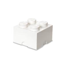 Room Copenhagen - LEGO Opbevaringskasse Brick 4 - Hvid