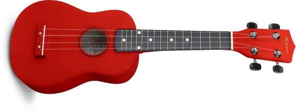 Reno - RU150 - Soprano Ukulele (Red)