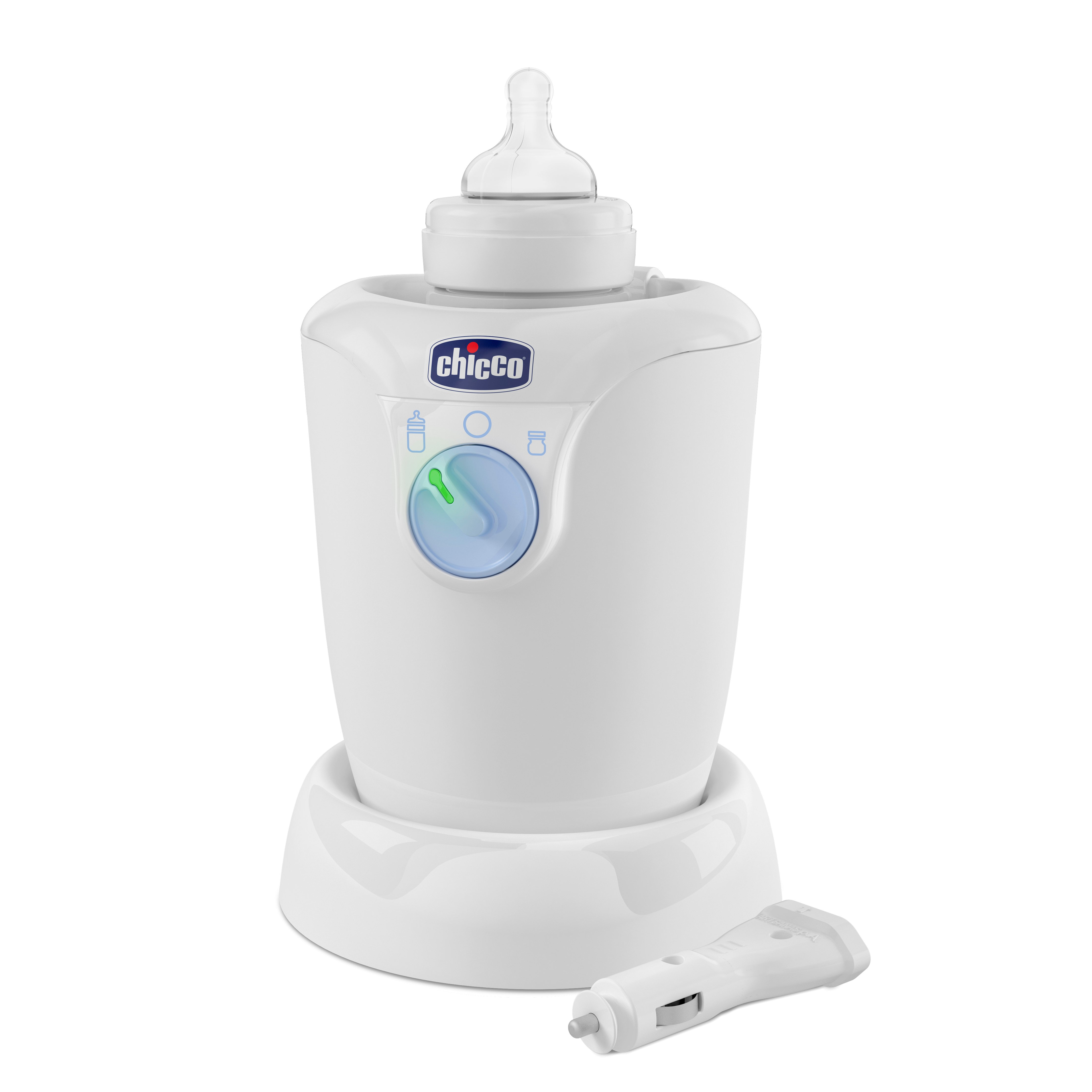 Chicco - Bottle Warmer Home + Car