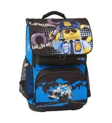 LEGO - Optimo Skoletaske Sæt (2 dele) - CITY - Police Cop