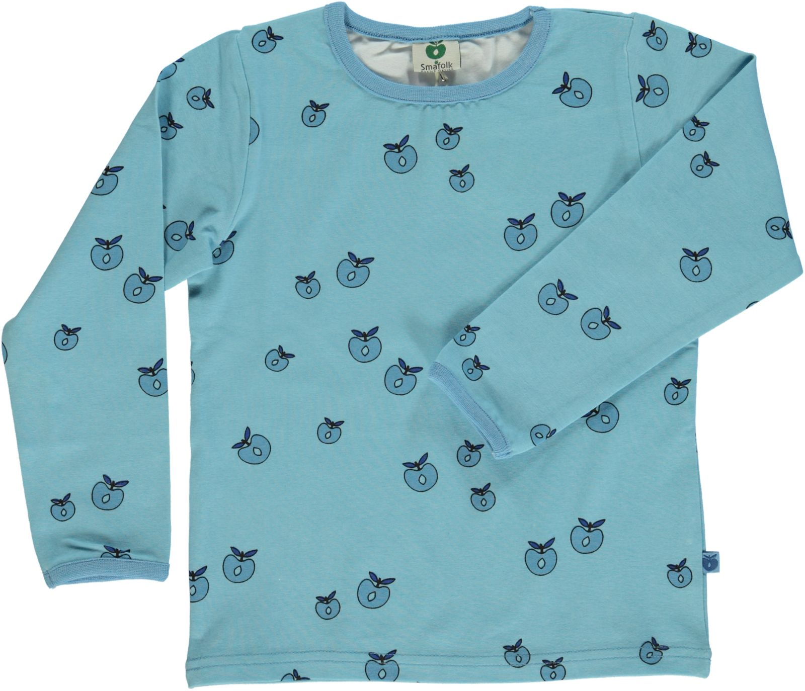 Småfolk - T-shirt w. Apple Print