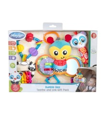 Playgro - Bumble Bee Teether & Link Giftpack (187221)