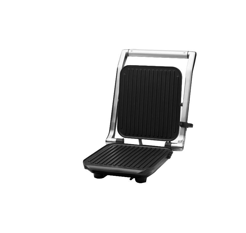 OBH Nordica - Compact Grill & Panini Maker - Silver (6928)